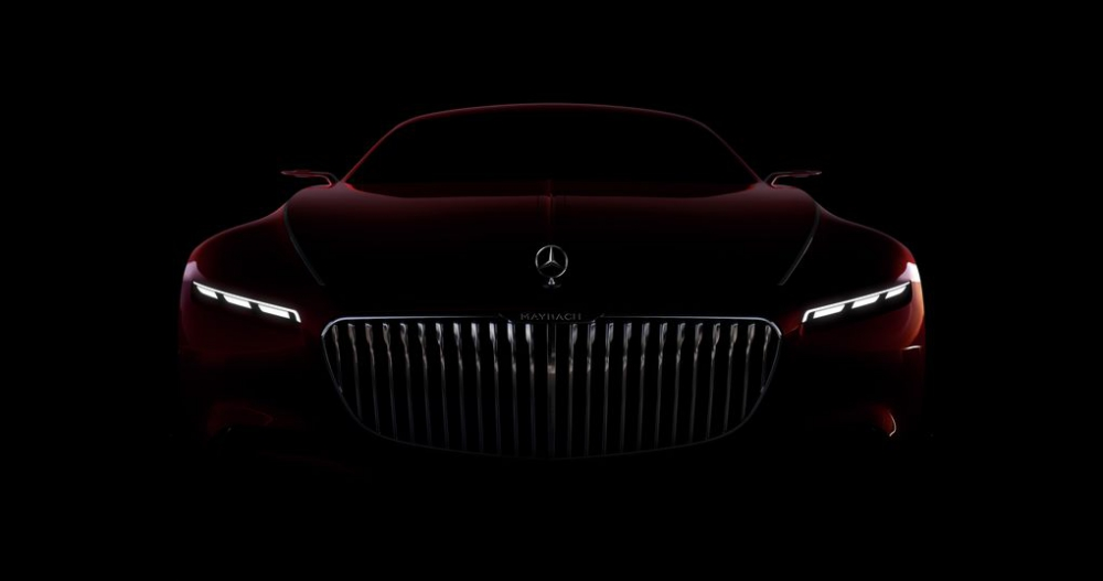 Vision Mercedes Maybach 6 Coupe