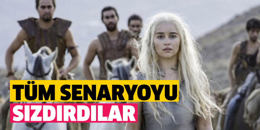 Game Of Thrones'da senaryo krizi!