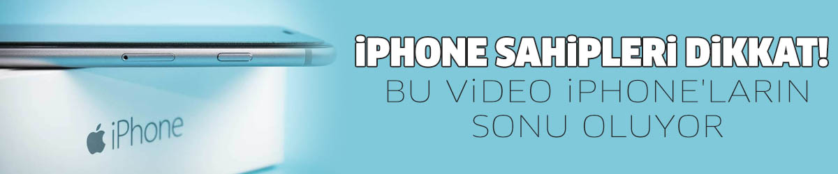Bu video iPhone'ların sonu oluyor!