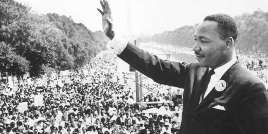 Martin Luther King anıldı