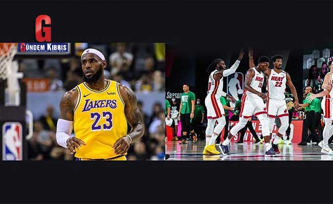 NBA: Heat, Lakers face off in 2020 Finals