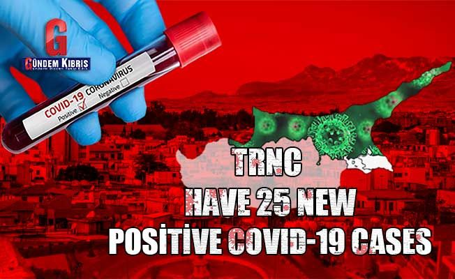 TRNC have 25 new positive COVID-19 cases