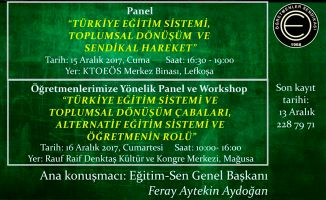 KTOEÖS'ten panel ve atölye