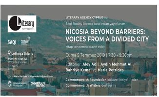 """Nicosia Beyond Barriers: Voices from a Divided City""' kitap tanıtımı 5 Temmuz'da"