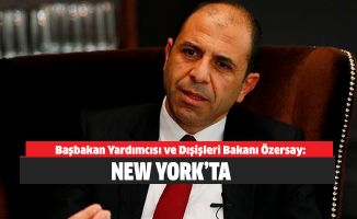 Özersay New York'ta