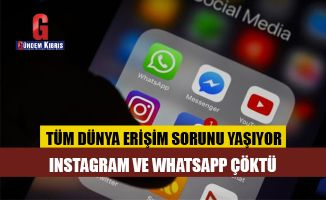 Instagram ve WhatsApp çöktü