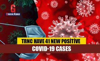 TRNC have 41 new positive COVID-19 cases