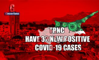 TRNC have 32 new positive COVID-19 cases