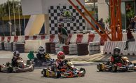 Kartingde start veriliyor